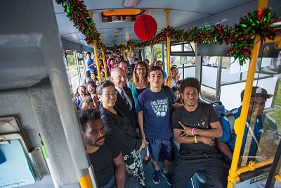 A Free Ride for IPU New Zealand Students